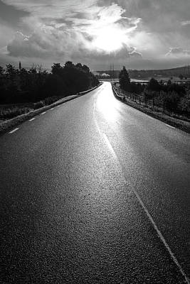 Digital Art - The Road by Tommytechno Sweden