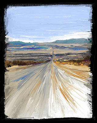Mixed Media - The Road Trip by Russell Pierce
