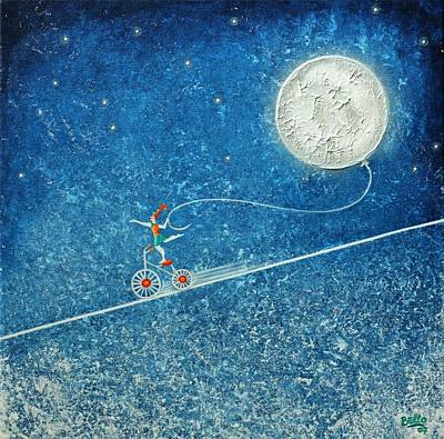 The Robbery Of The Moon Art Print