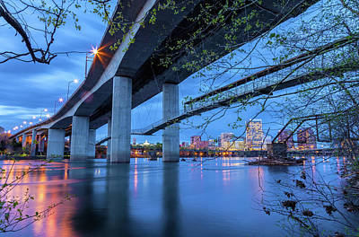 Photograph - The Robert E Lee Bridge by Jonathan Nguyen