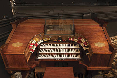Photograph - The Robert Morton Organ At The Perot Theatre In Texarkana  by Carol M Highsmith