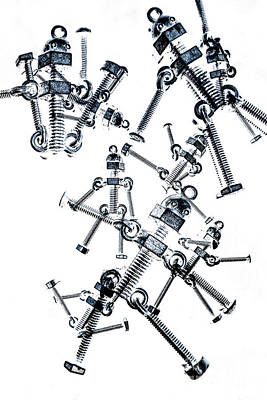 Line Movement Wall Art - Photograph - The Robot Dance by Jorgo Photography - Wall Art Gallery