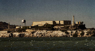 The Rock Alcatraz 1 Original by Bonnie Follett