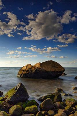 Photograph - The Rock At Horton Point by Rick Berk
