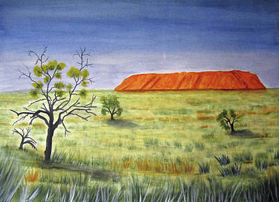 Painting - The Rock by Elvira Ingram