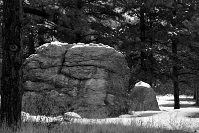 Photograph - The Rock - Estes Park by Angie Tirado