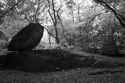 Photograph - The Rock In The Ramble by Christopher Kirby