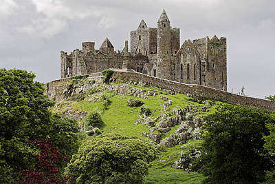 The Rock Of Cashel Ireland In Summer Art Print by Pierre Leclerc Photography