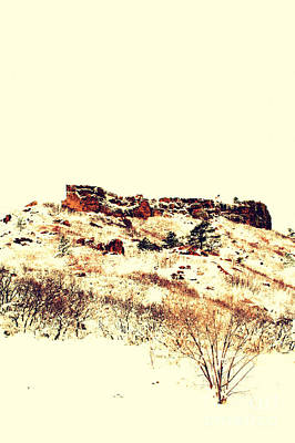 Photograph - The Rock Of Castle Rock Co by Anjanette Douglas