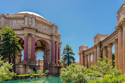 Photograph - The Rock - Palace Of Fine Arts by Moshe Levis