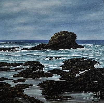 Painting - The Rock  by Paula Ludovino
