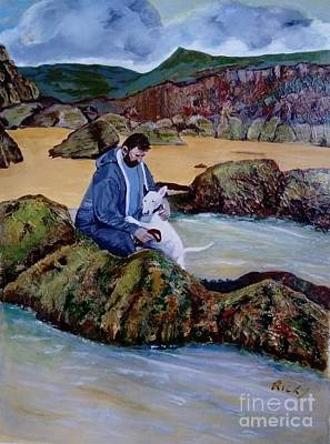 Painting - The Rock Pool - Painting by Veronica Rickard