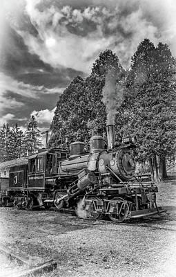 Antique Photograph - The Rocket Bw by Steve Harrington