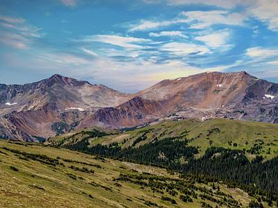 Photograph - The Rockies by Bill Gallagher