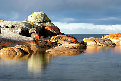 Photograph - The Rocks And The Water by Nicholas Blackwell