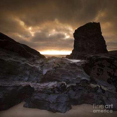 The Rocks Print by Angel  Tarantella