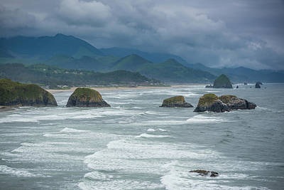 Photograph - The Rocks Of Cannon Beach by Anthony Doudt
