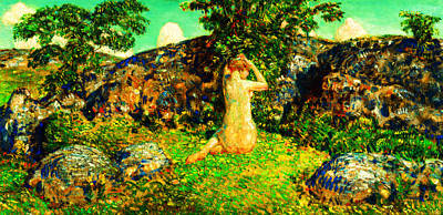 Painting - The Rocks Of Cape Ann by Peter Gumaer Ogden
