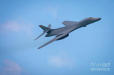 Photograph - The Rockwell B-1 Lancer Bomber by Rene Triay Photography