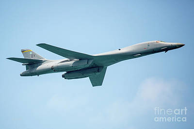 Photograph - The Rockwell B-1 Lancer by Rene Triay Photography