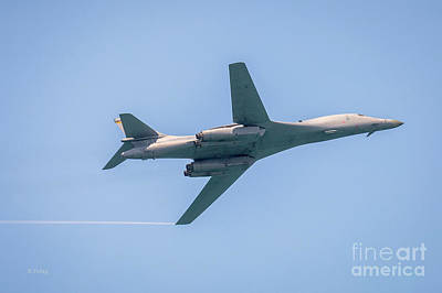 Photograph - The Rockwell B-1 Lancer Slow Flight by Rene Triay Photography