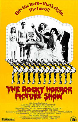 1970s Movies Photograph - The Rocky Horror Picture Show by Everett