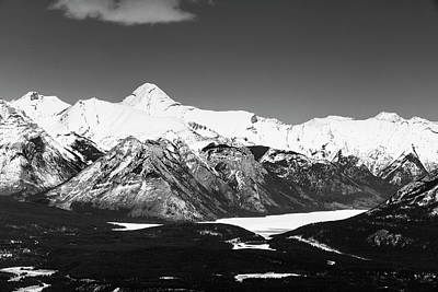 Photograph - The Rocky Mountains by Josef Pittner