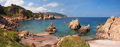 Photograph - The Rocky Northern Coast Of Sardinia by IPics Photography