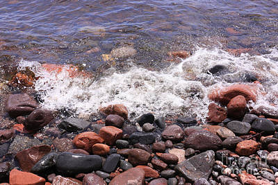 Photograph - The Rocky Shore by Kate Purdy