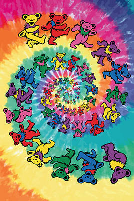 Trip Wall Art - Digital Art - The Roller Bears by Gb