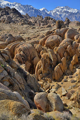 Photograph - The Rolling Alabama Hills by Ray Mathis