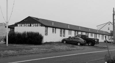 The Rolling Stones' Memory Motel Montauk New York Art Print