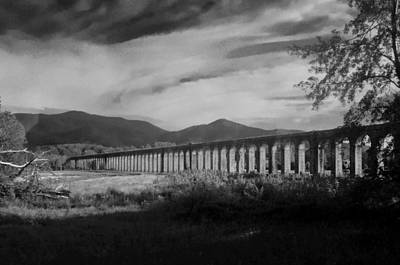Photograph - The Roman Aqueducts by Chris Alberding
