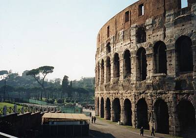 Art Print featuring the photograph The Roman Colosseum by Marna Edwards Flavell