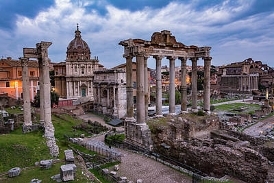 Photograph - The Roman Forum by Gary Lengyel