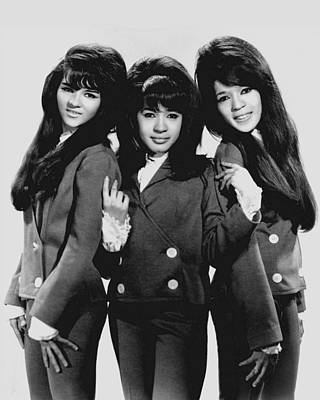 The Ronettes 1966 Art Print by Mountain Dreams