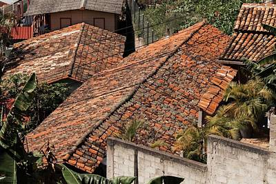 Photograph - The Roof Tops Of Santa Lucia by Hany J