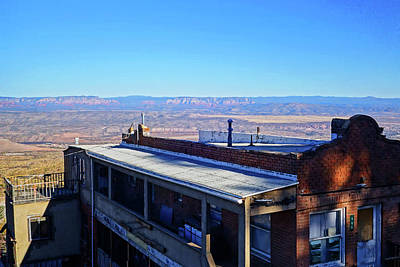 Photograph - The Rooftops Of Jerome Arizona by Toby McGuire