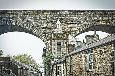 Photograph - The Rooftops Of Redruth by Terri Waters