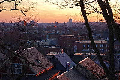 Photograph - The Rooftops Of Somerville by Toby McGuire