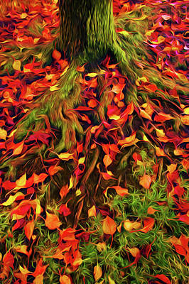 The Root Of Fall Art Print