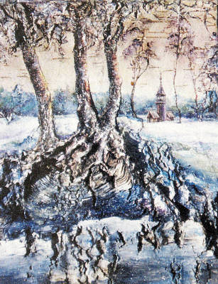 Tree Roots Painting - The Roots Of Life by Maya Bukhina