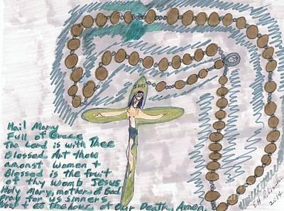 The Rosary Art Print