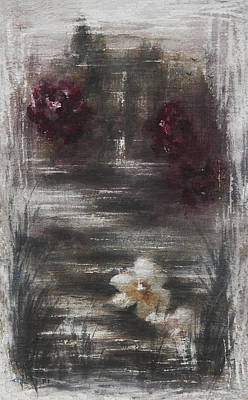 Rose Of Sharon Painting - The Rose And The Lily by Rachel Christine Nowicki