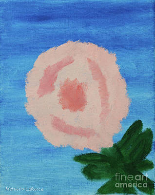 Painting - The Rose by Anthony LaRocca