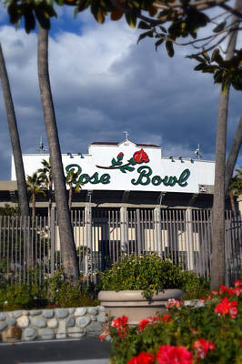 Photograph - The Rose Bowl - Pasadena by Glenn McCarthy Art and Photography