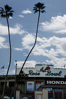 Photograph - The Rose Bowl by Robert Hebert