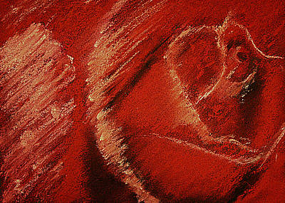 Pastels Pastel - The Rose by David Patterson