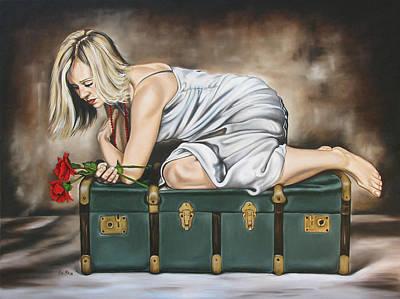 The Rose Print by Ilse Kleyn