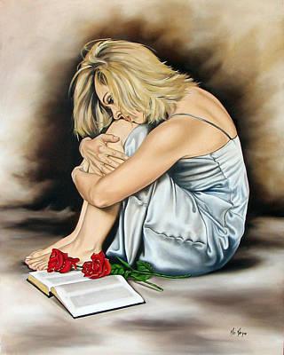 The Rose Of Sharon Print by Ilse Kleyn